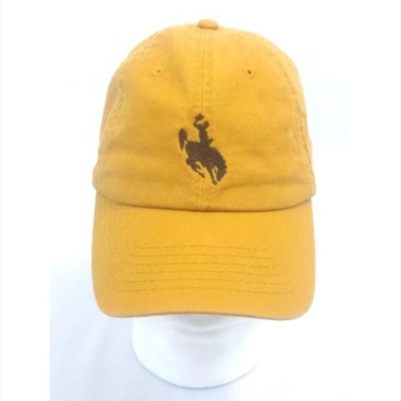 Hat Cap Adjustable Wyoming Cowboys
